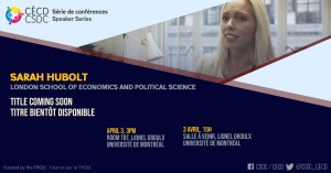 Série de Conférences - Sara Hobolt @ Lionel Groulx, UdeM