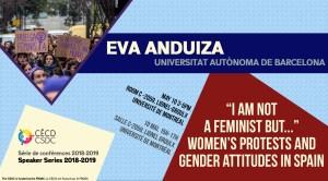 Speaker Series: Eva Anduiza @ Room C-2059, Lionel Groulx Building, Université de Montréal | Montréal | Québec | Canada