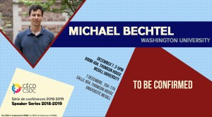 Speaker Series: Michael Bechtel @ Room 404 - Thomson House | Montréal | Québec | Canada