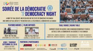 Democracy Night @ Cinéma du Parc | Montréal | Québec | Canada