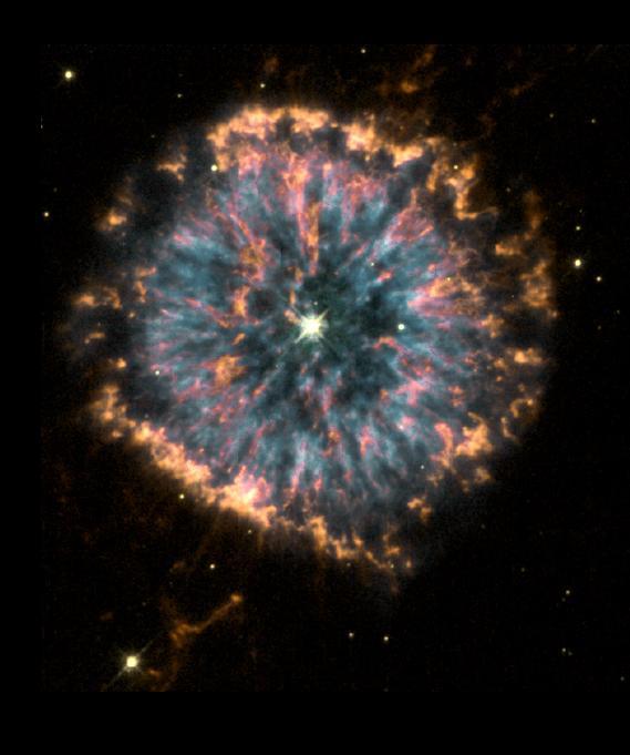The Stellar Life Cycle: Planetary Nebula + White Dwarf