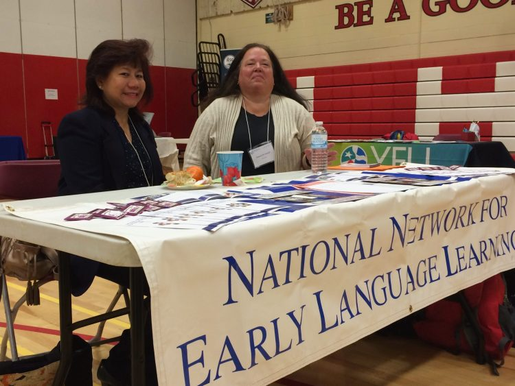 Jeannie Salomon at NNELL (National Network for Early Language Learning)