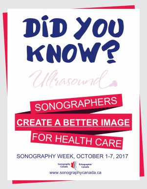 Sonography Week 2017 Posters_English