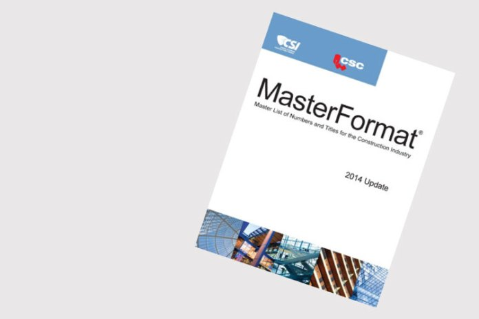 Everything you need to know about the 2014 MasterFormat update