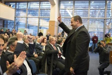 Gyorshír: Németh Szilárdot választották a Magyar Birkózó Szövetség elnökének