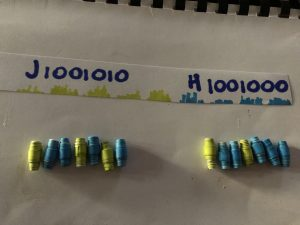Binary Necklaces to Represent Data