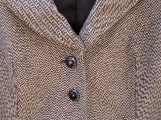 "Tweed Jacket with ""Divine Details"""
