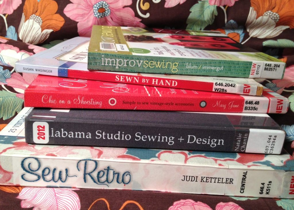 Sewing Books at the Library: Improv Sewing, Sew Retro and More