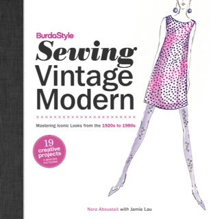 BurdaStyle Sewing Vintage Modern book cover