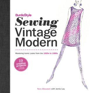 BurdaStyle Sewing Vintage Modern book cover