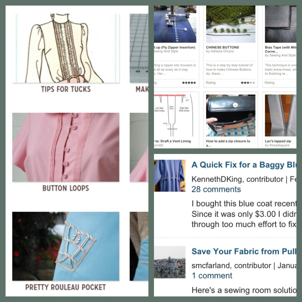 The Search for Sewing Advice After Hours