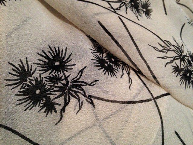 My Test Results: Pre-washing Silk Chiffon