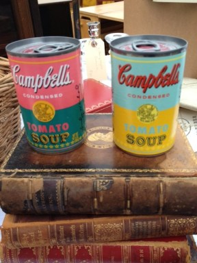 Andy Warhol tomato soup cans