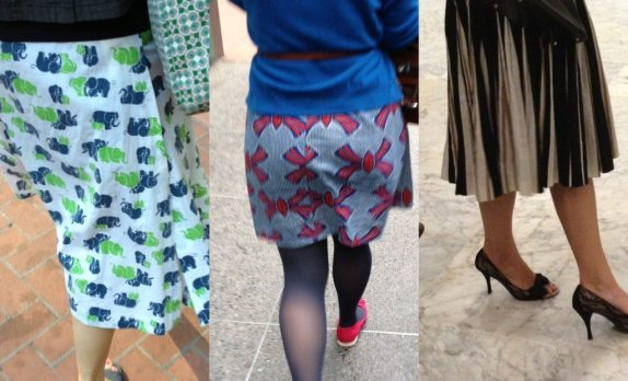 Three skirts - featured