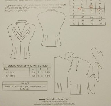 Girl Friday blouse - Decades of Style