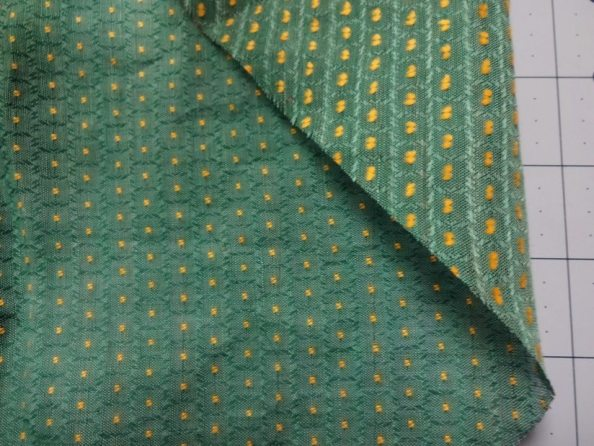 Vintage Swiss dot cotton voile - late 1940s