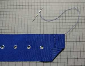 Finishing ribbon belt - csews.com