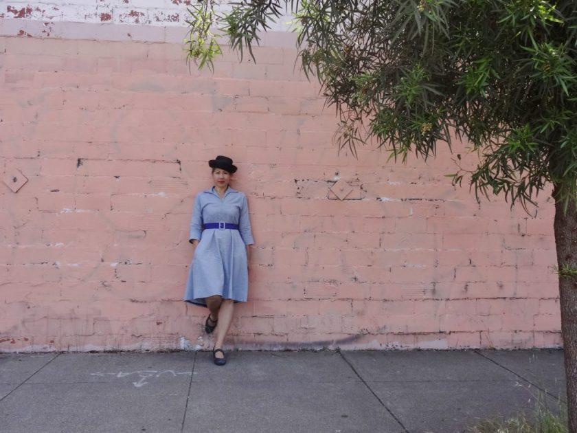 Winifred Dress - Bluegingerdoll Patterns - front view -csews.com