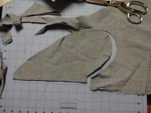 Emery Dress pocket pattern - modified for Winifred Dress