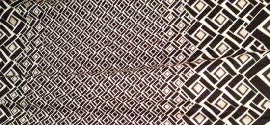 Border print fabric from Britex Fabrics - Italian cotton lycra print