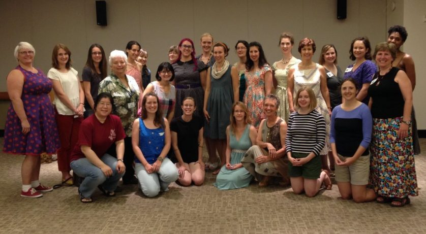 Bay Area Sewists meetup - fabric swap - 26 July 2014