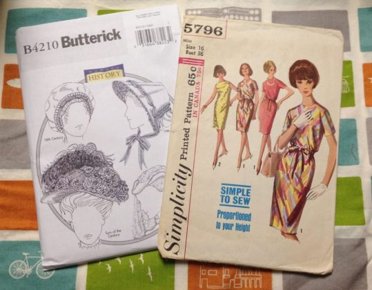 Sewing patterns - fabric swap - Bay Area Sewists - csews.com