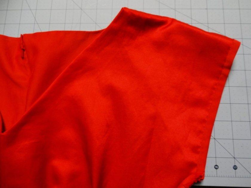 Anna Dress - By Hand London - Inside sleeve hem - csews.com