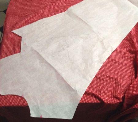 Wrap blouse front pattern piece - csews.com