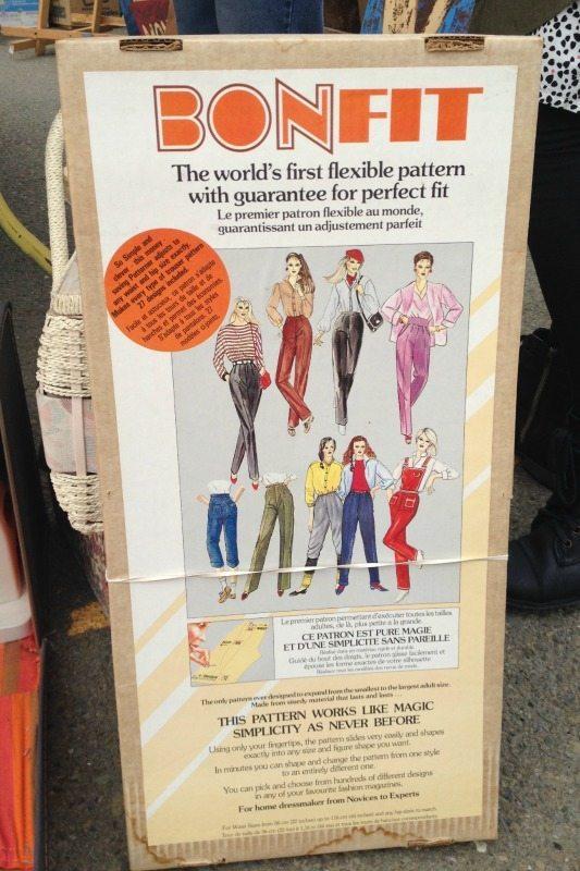 pants sloper - Alameda flea market - csews.com