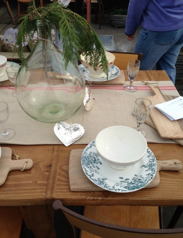 place settings - Alameda flea market - csews.com