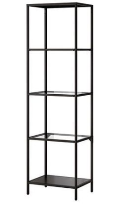 Ikea Vittsjo shelving unit - sewing storage - csews.com