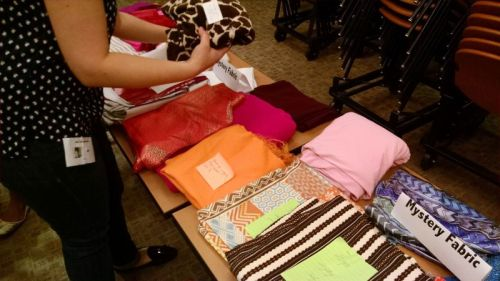 Mystery fabric - Bay Area Sewists - fabric swap