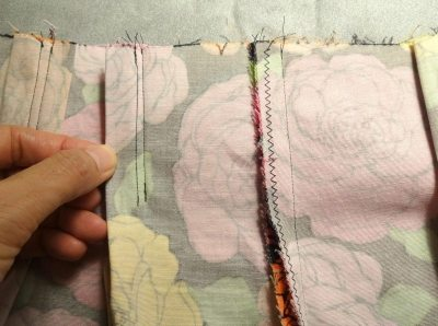Reinforcement stitches for pleats - csews.com