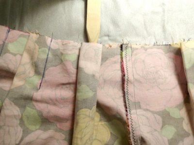 Center the pleat over the seam - csews.com