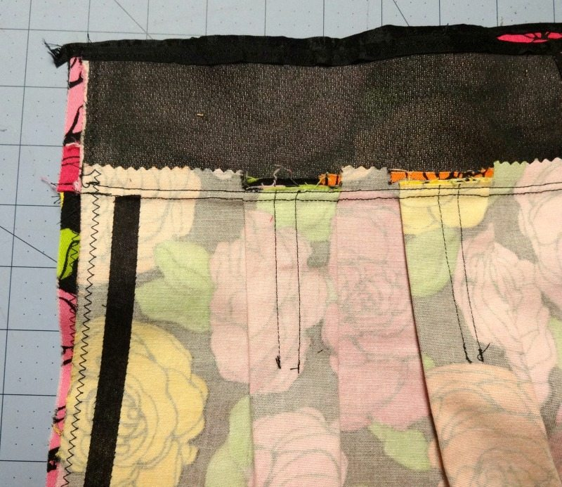Chardon skirt - fusible bias tape - csews.com