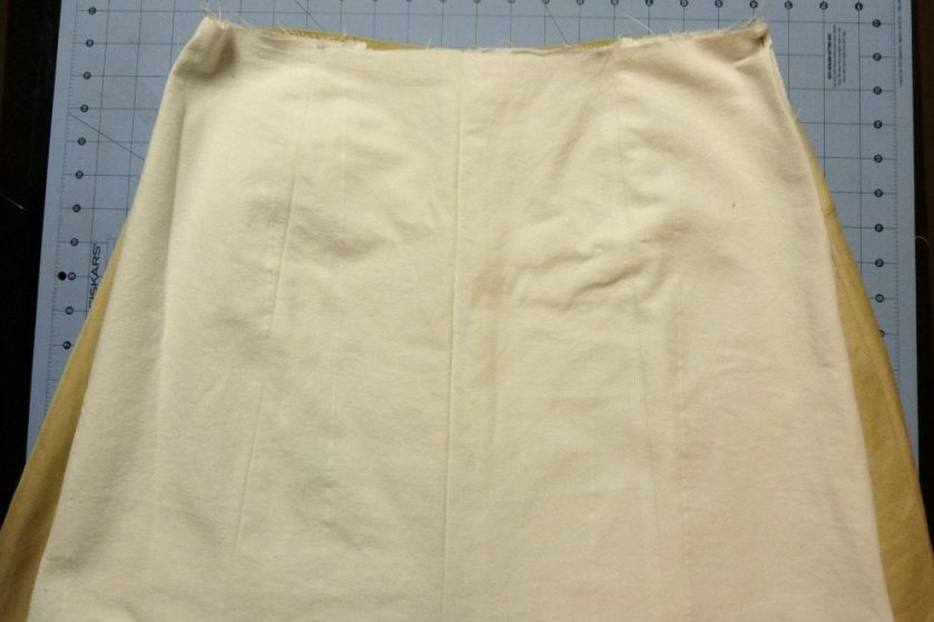 A-line skirt - ease at hips - csews.com