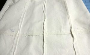 Muslin seams - A-line Block Skirt - Basic Black - csews.com