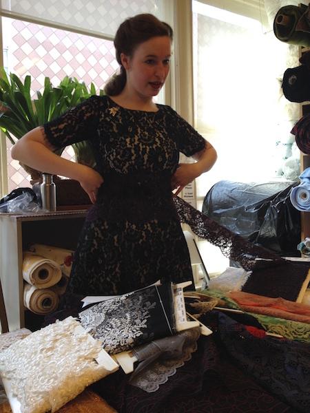 Lace - 10-inch width - Britex Fabrics - csews.com