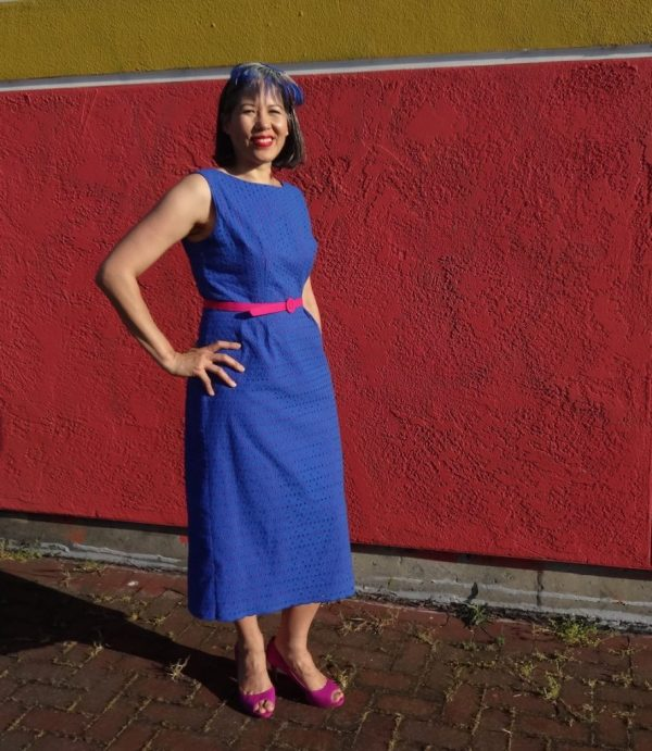 Spring for cotton - vintage Simplicity 2439 dress pattern - csews.com