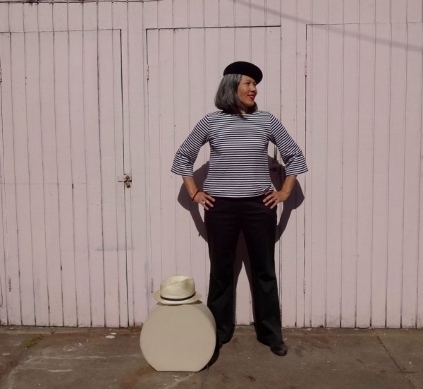 Top - She Wears the Pants - beret - csews.com