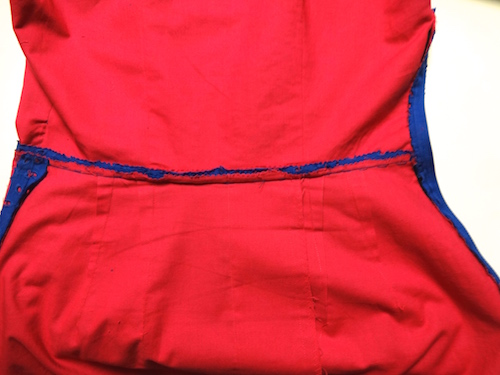 Waist seam - inside - csews.com