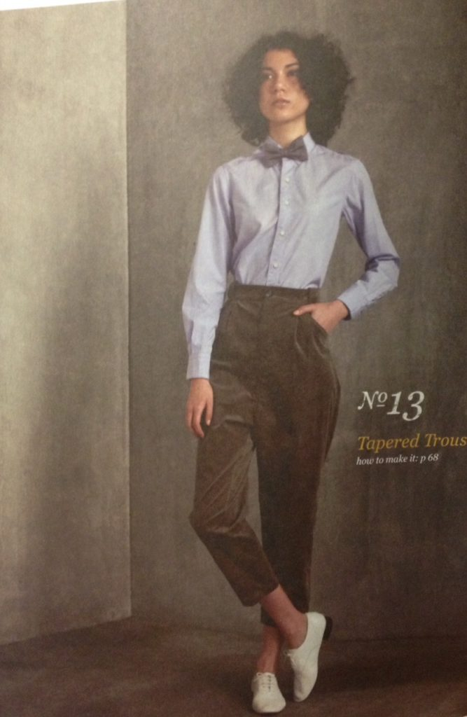 Tapered Trousers - She Wears the Pants by Yuko Takada - csews.com