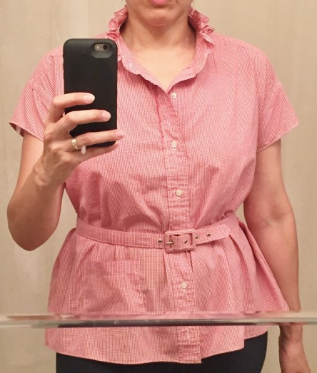 Refashioned shirt belted - csews.com