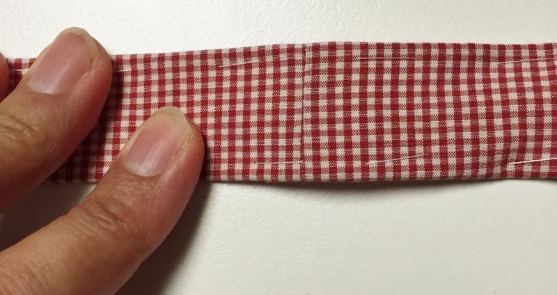 Fabric belt seam - Get Shirty project - Refashion - csews.com
