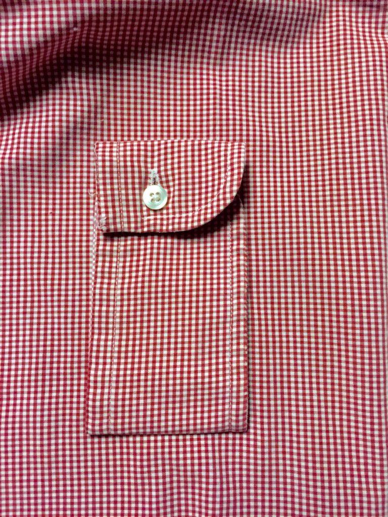 Shirt cuff as pocket - refashion - csews.com