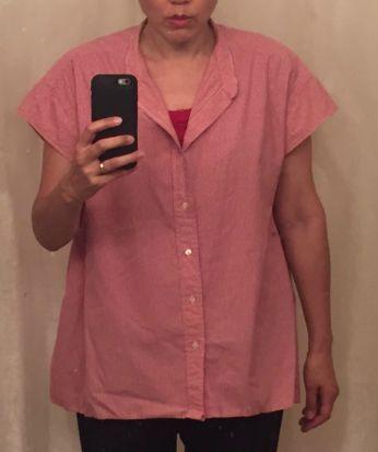Refashioned shirt - WIP - csews.com