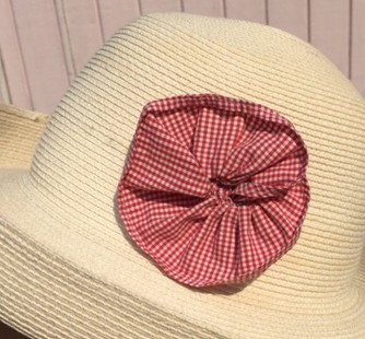 Fabric flower for hat - csews.com