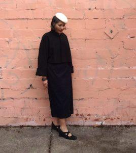 Nita Wrap Skirt (Sew DIY pattern) with Vogue Jacket - csews.com