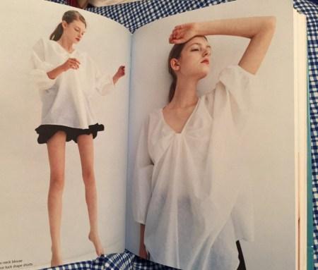 Drape Drape 3 - No. 7 two-piece v-neck blouse - csews.com