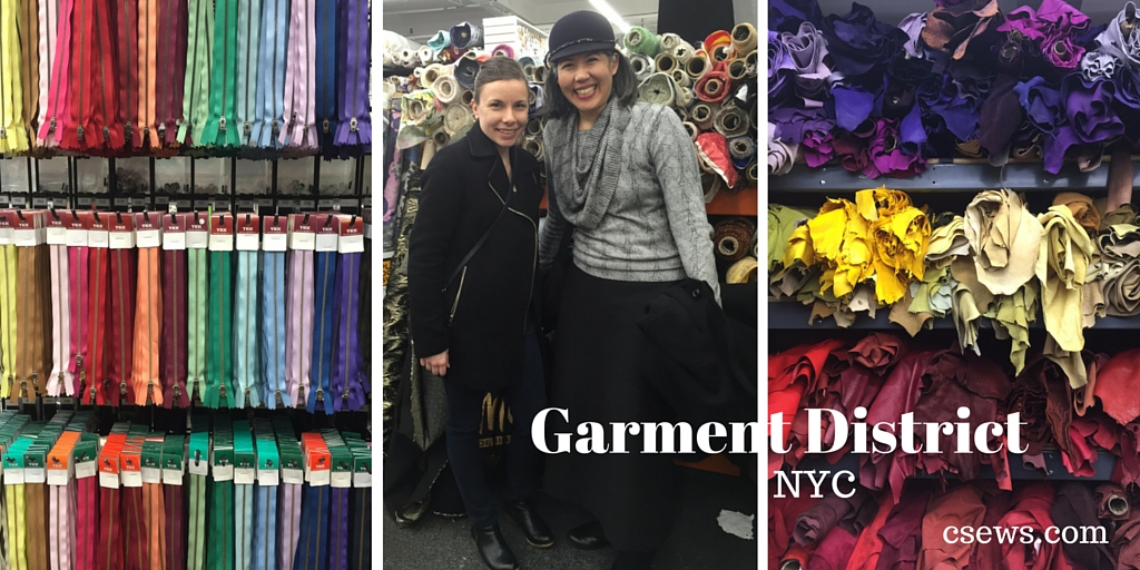 My trip to New York's Garment District